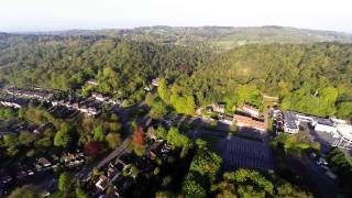 Aerial Flight over Lickey Hills Worcestershire