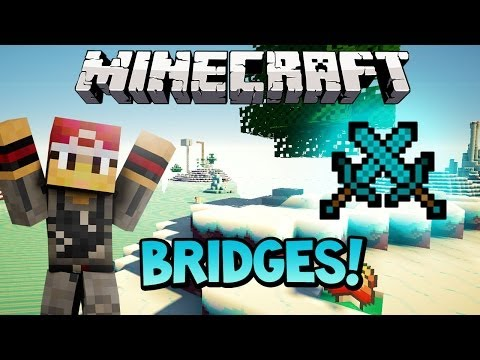 Team Apples! - Bridges Icelands (Mineplex PVP) Minecraft Mini-Game w/Preston & MrWoofless