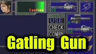 getlinkyoutube.com-Resident Evil 2 - Gatling Gun vs Bosses game B