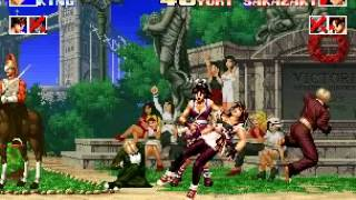 getlinkyoutube.com-KOF 94 - イギリスチーム(LV8)