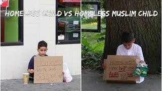 getlinkyoutube.com-HOMELESS CHILD VS HOMELESS MUSLIM CHILD SOCIAL EXPERIMENT (KID GOT ROBBED)