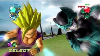 getlinkyoutube.com-Dragon Ball Z: Ultimate Tenkaichi - Pt 5: Cell Games Saga HD