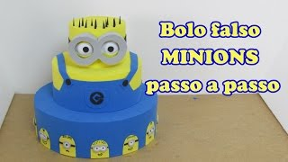 getlinkyoutube.com-Bolo falso Minions