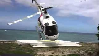 getlinkyoutube.com-Fiji helicopter crash (longer w/ audio)