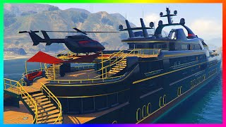 getlinkyoutube.com-GTA 5 DLC ULTIMATE YACHT, MANSIONS & NEW APARTMENT CUSTOMIZATION & BUYING SPREE! (GTA 5)