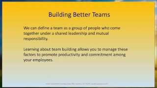Team Building Promo - SciPubMed.com