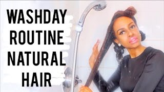 Natural 4b/4c Hair || FULL WASH DAY ROUTINE
