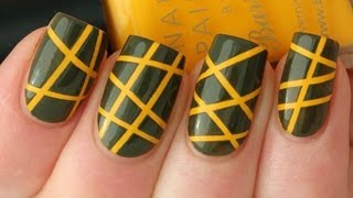 getlinkyoutube.com-Striping Tape Nail Art Tutorial
