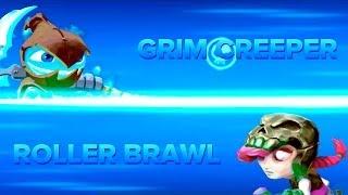 getlinkyoutube.com-Skylanders Swap Force PVP - Grim Creeper VS Roller Brawl