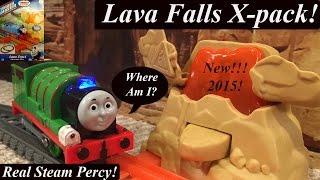 getlinkyoutube.com-Thomas & Friends Toy Train-Trackmaster Lava Falls Xpansion Pack!