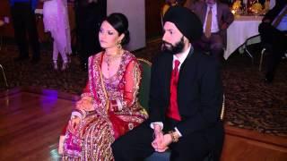 getlinkyoutube.com-Tania and Manpreet's Sikh Wedding Reception