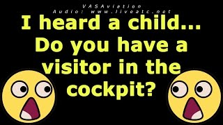 """getlinkyoutube.com-[FUNNY ATC] """"Do you have a visitor in the cockpit?"""""""