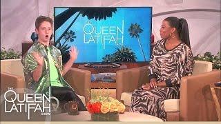 getlinkyoutube.com-Viral Sensation Brendan Jordan! on The Queen Latifah Show