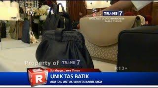 TRANS7 JATIM - Tas Etnik Penuh Tema Batik