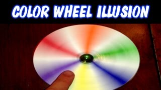 getlinkyoutube.com-Color Wheel Illusion Newton's Disc Easy to Make ~ Incredible Science