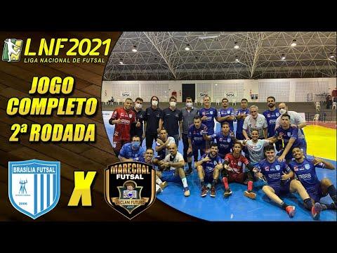 JOGO COMPLETO: Brasília Futsal 3 x 2 Marechal - 27/04/2021