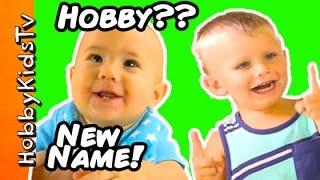 getlinkyoutube.com-HobbyBabies Get New Names! HobbyPig Helps + Mickey Mouse T-Rex Monsters by HobbyKidsTV