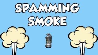 getlinkyoutube.com-HOW TO MAKE PEOPLE RAGE IN BLACK OPS 2   SPAMMING SMOKE
