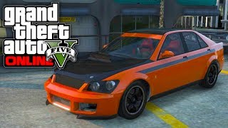 getlinkyoutube.com-GTA 5 Online: Sultan RS BEST Spawn Location! Secret Cars Customization (GTA V)