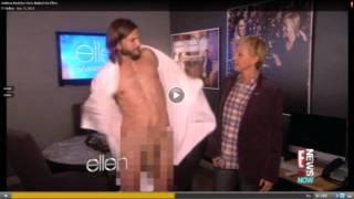 getlinkyoutube.com-Ashton Kutcher gets naked on 'Ellen Degeneres Show': 'I'm going to do everything nude from now on'