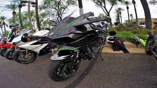 getlinkyoutube.com-Street Legal Kawasaki Ninja H2R