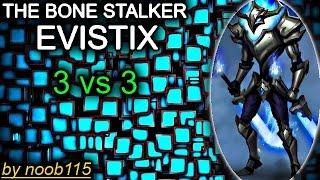 getlinkyoutube.com-Heroes of O&C: Evistix Action! 3vs3 noob team!