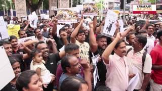 Jallikattu Protest by Malaysians at Brickfields
