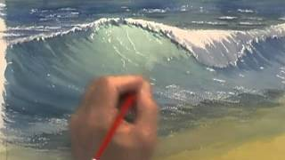 getlinkyoutube.com-Painting Water in Watercolour - Crashing Waves (Part 2)
