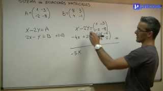 Imagen en miniatura para Sistema de ecuaciones matriciales