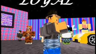 getlinkyoutube.com-★ Chris brown - Loyal (Roblox Music video)★ by Kingjonas42