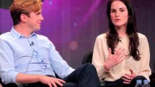 getlinkyoutube.com-Michelle Dockery and Dan Stevens