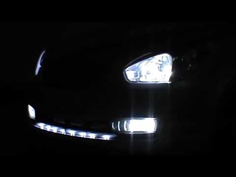 Светодиодная LED подсветка решетки в авто led light