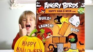 Angry Birds Happy HAM-O-WEEN Game !!! Halloween Edition !