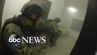 getlinkyoutube.com-El Chapo | GoPro Helmet POV Footage of Raid Capturing Joaquin Guzman