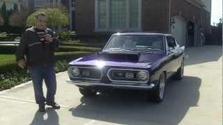 getlinkyoutube.com-1968 Plymouth Barracuda Classic Muscle Car for Sale in MI Vanguard Motor Sales