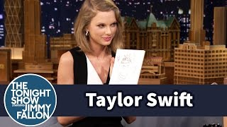 getlinkyoutube.com-Taylor Swift and Jimmy Draw Each Other Without Looking