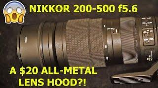 getlinkyoutube.com-A BETTER Lens Hood for the Nikkor 200-500 f5.6 - for $20?!