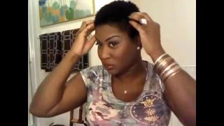 getlinkyoutube.com-How to Style Your Sexy Short Natural TWA (Teeny Weeny Afro)