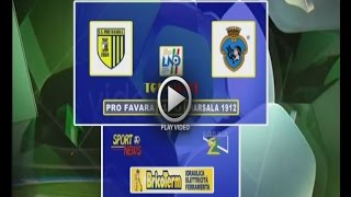 RV PRO FAVARA   MARSALA 1912  1- 0