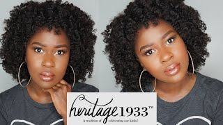 getlinkyoutube.com-HAIR UPDATE on the BEST Kinky Curly Hair for Type 4 Natural Hair!!!|Heritage1933|Mona B.