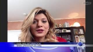 Nathalie Ávila invita a Habana Nights en la Opera de Naples
