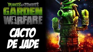 getlinkyoutube.com-Plants vs Zombies Garden Warfare - Cacto de JADE, melhor cacto PERSONAGEM NOVO DLC
