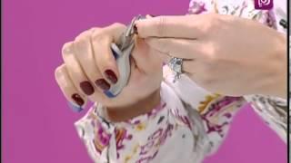 "getlinkyoutube.com-فاي سابا تزين الملابس بقطع ملونة بشكل ""الشماغ"""