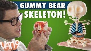 getlinkyoutube.com-Gummy Bear Skeleton