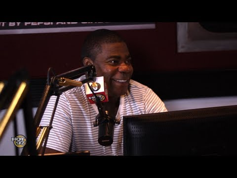 Tracy Morgan on Miguel's Leg Drop and warns Obama to get a Pitbull