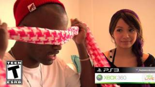 getlinkyoutube.com-Michelle Phan vs. sWooZie blindfolded
