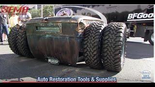 getlinkyoutube.com-Incredible Dual Wheel Model A Rat Rod from WelderUp - Vegas Rat Rods - SEMA - Eastwood