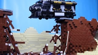 getlinkyoutube.com-Lego Train Crash
