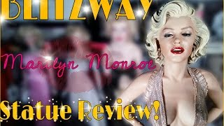 getlinkyoutube.com-BLITZWAY 1/4 MARILYN MONROE STATUE REVIEW!