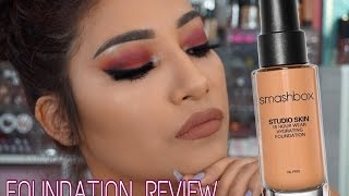 SMASHBOX Studio Skin 15 Hour Wear Hydrating Foundation Shade 3.2 Foundation Review